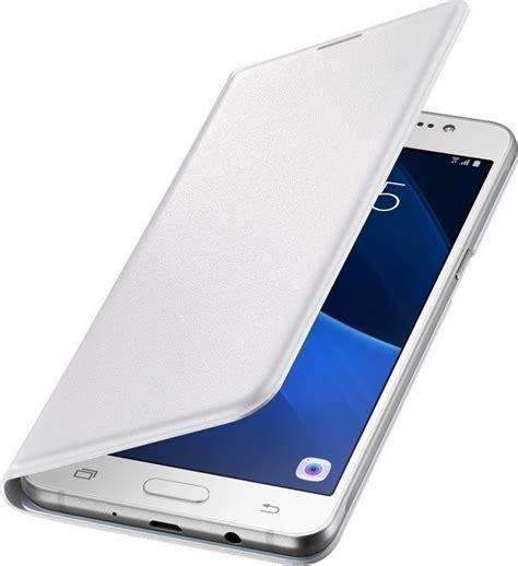 Flip Wallet Galaxy J7 2016 Samsung Cover Original Black J710 samsung flip wallet cover white j710 galaxy j7 2016