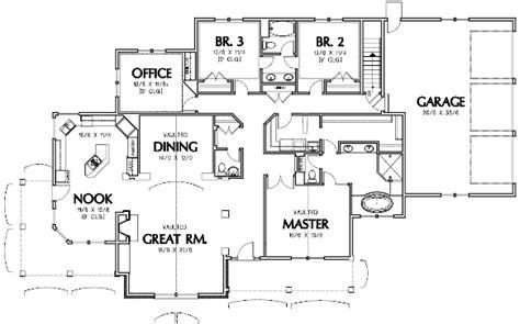 garrett house plans mascord house plan b1232 the garrett