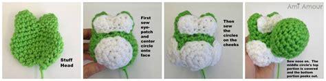 pattern for yarn yoshi yarn yoshi amigurumi pattern ami amour