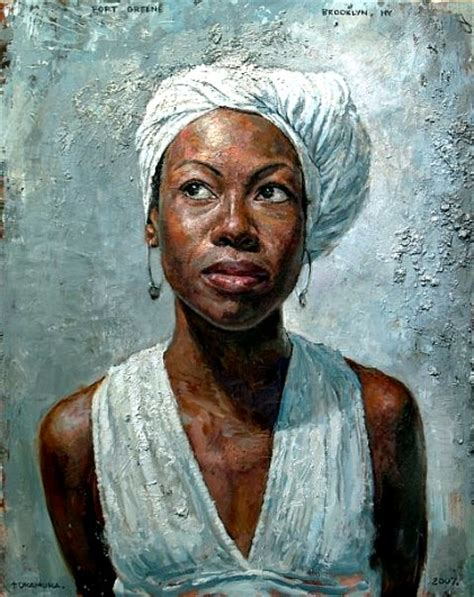 black woman paintings portraits artwork tim okamura on pinterest natural hair art hotel