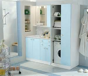 Laundry Room Storage Cabinets Ideas Blue Cabinets Laundry Room And Storage Home Interiors