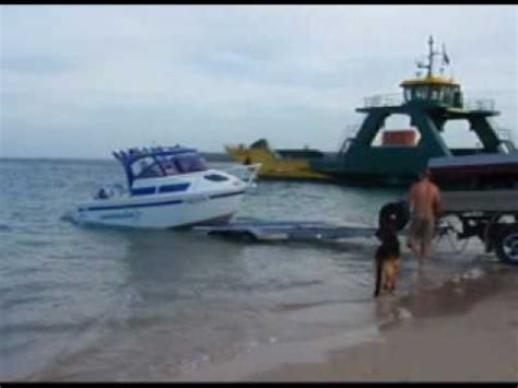 best boat trailer for beach launching perfect beach boat launch youtube