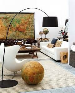 Worldly Decor by Diy Art World Map Decor Home Design