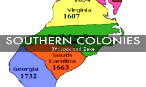 southern colonies map 5 southern colonies america 5 southern colonies