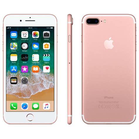 iphone 7 apple plus 128gb tela retina hd de 5 5 ios 10 dupla c 226 mera traseira resistente