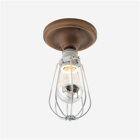 Ceiling Mounted Light Fixture Franklin Surface Mount Light Fixture Contemporary Ceiling Lighting By Schoolhouse Electric
