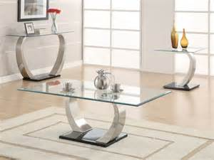 Modern Glass Coffee Table Set Contemporary Glass Coffee Tables