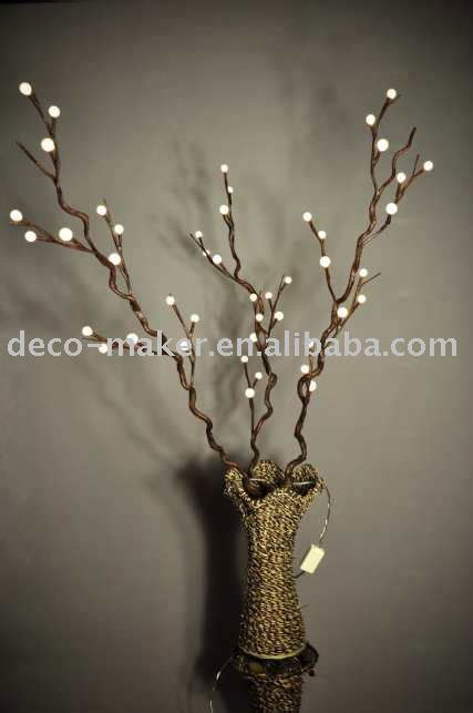 tree branch with lights home ideas designs