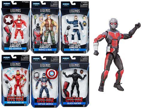 marvel figure 6 set set of 6 build a figure marvel legends