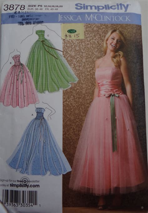 pattern prom dress how to understand a sewing pattern envelope a beginners