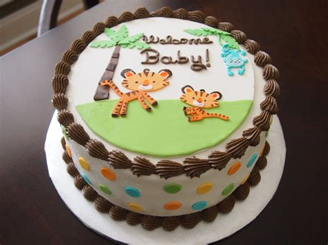 Safari Cakes Baby Shower by Fisher Price Rainforest Jungle Safari Baby Shower Cake
