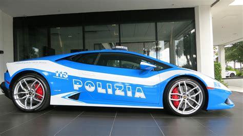 Polizia Lamborghini Lamborghini Huracan Polizia Stradale