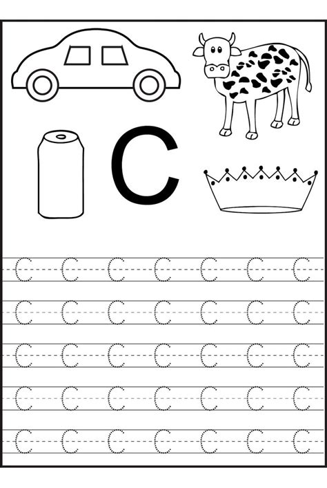 preschool printable worksheets letter c best 25 letter c worksheets ideas on pinterest letter k