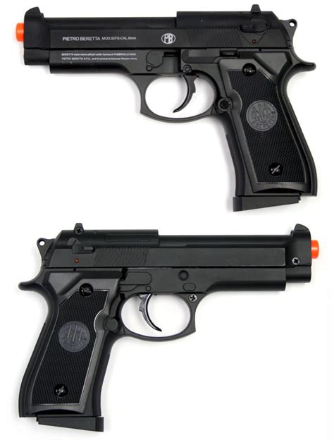Airsoft Gun Pietro Beretta cybergun beretta 92fs metal airsoft pistol airsoft guns