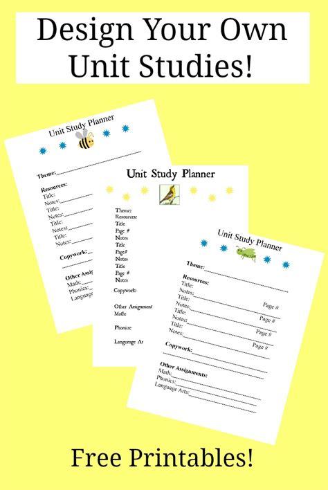 design your own planner online free design your own unit studies free homeschool deals