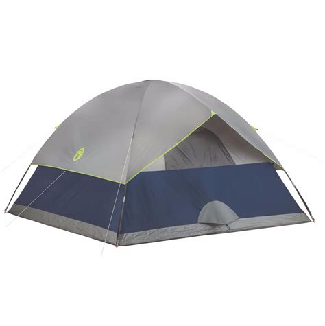 coleman tent awning coleman sundome 6 person outdoor hiking 10 x 10 cing