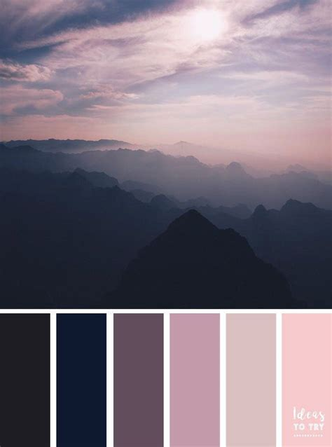 sunset color scheme sunset color palette sky color palette color inspiration