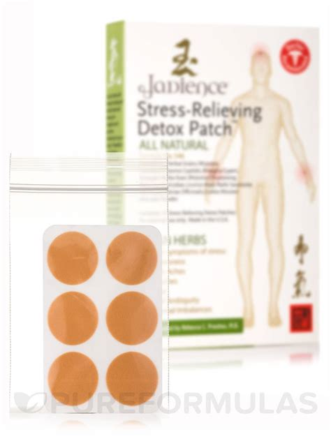 Herbal Detox Patches by Stress Relieving Detox Patches Box Of 12 Count