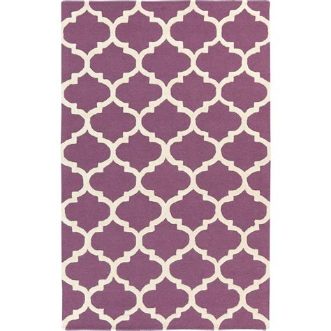 rugs with purple accents nuloom trellis purple 2 ft x 3 ft accent rug mtvs27h 203