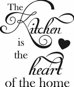 the kitchen is the heart of the home vertical quote the the kitchen is the heart of the home grafix wall art