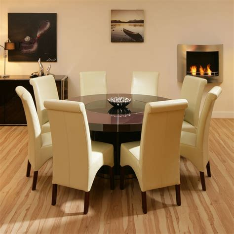 round dining room table for 8 round dining table set for 8 table designs