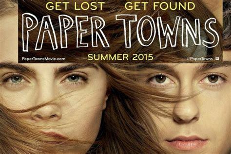 film paper towns adalah trailer de ciudades de papel paper towns con cara