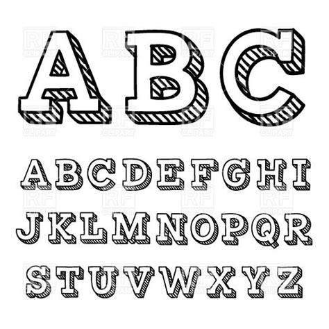 simple font design online simple typography alphabet www pixshark com images