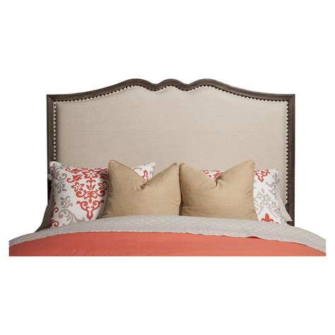 upholstered headboard and footboard charleston bed antique gray upholstered headboard and