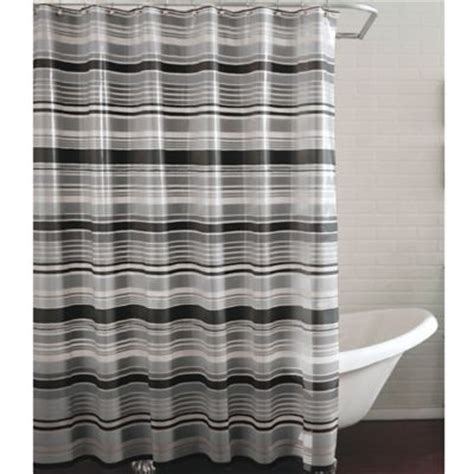 Black Gray Shower Curtain by Buy Grey Shower Curtain From Bed Bath Beyond