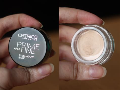 Catrice Eyeshadow Base review tutorial gosh plum smokey eye palette catrice prime and eyeshadow base the