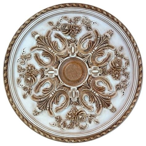 Black Ceiling Medallion by Painted Bradford Ceiling Medallion Gold And