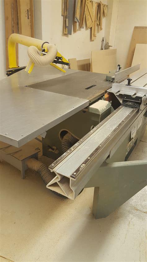 altendorf sliding table saw used altendorf f 45 sliding table saw coast machinery