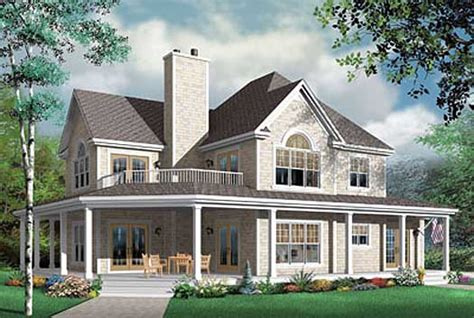 4 Bedroom Country House Plans by Country House Plan 4 Bedrooms 3 Bath 2992 Sq Ft Plan 5 705