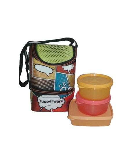 tupperware cool n fab lunch set 4pcs buy at