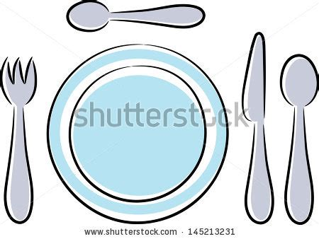 Different Kinds Of Kitchen Knives cartoon plate stock photos images amp pictures shutterstock