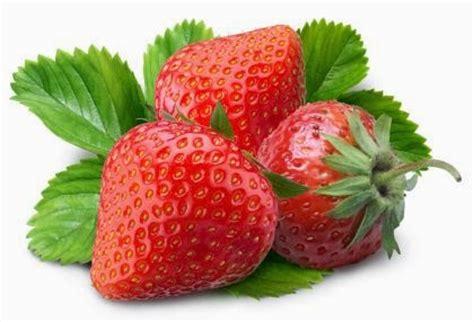 gambar buah strawberry merah segar aku buah sehat