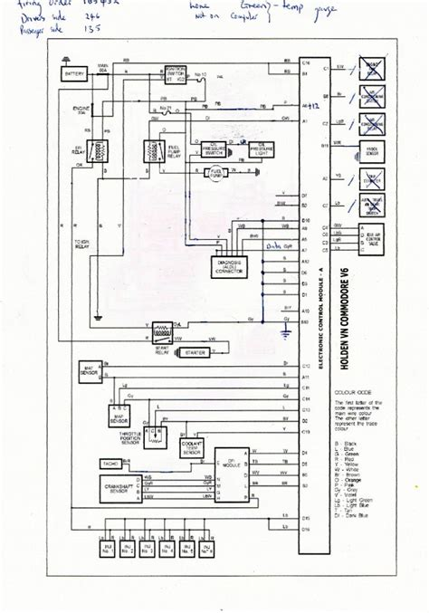 holden vs v engine wiring diagram torzone org holden