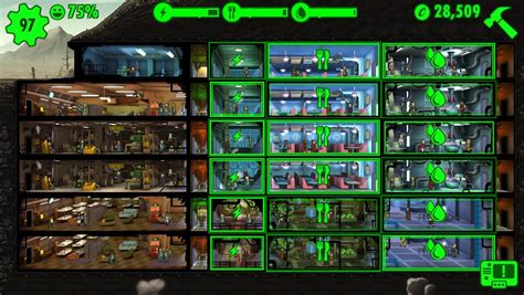 fallout shelter layout guide reddit here s the layout i settled on for my lunchbox exploit