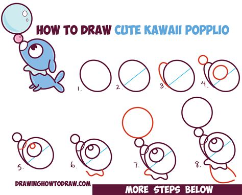 how to draw for beginners kawaii mew drawings images images