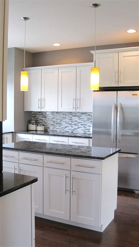 Pics Of White Kitchen Cabinets I Married A Tree Hugger Modern Craftsman Kitchen