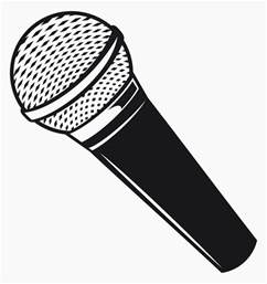 Microphone Template by Three And A Fish Sun Roarin Waters
