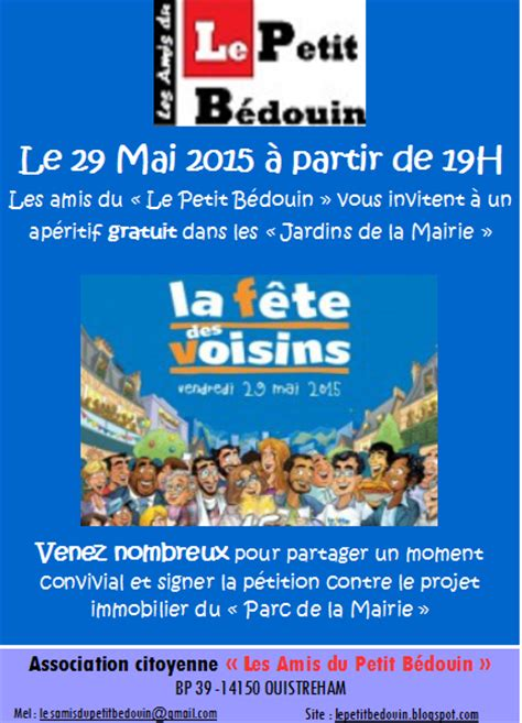 modele invitation fete des voisins document