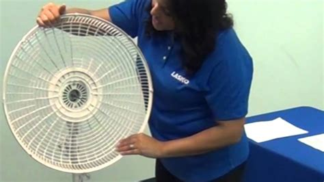 lasko fan blade replacement how to assemble a lasko 174 pedestal stand fan in minutes