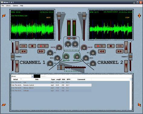 console da dj per principianti mixxx