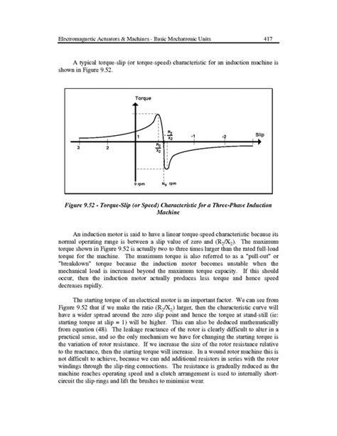 torque speed characteristics of induction motor pdf torque versus speed characteristics of induction machine zanran