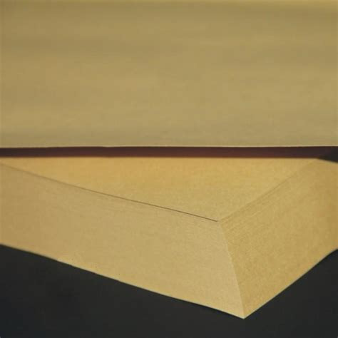 Printing On Craft Paper - 100 sheets lot 150gsm a4 brown kraft paper craft paper