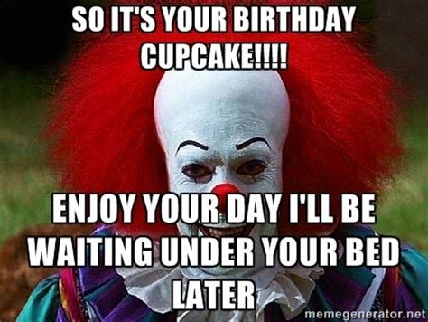 Clown Happy Birthday Meme