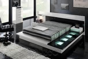 tokyo 710 modern walk on platform bed by milmueble