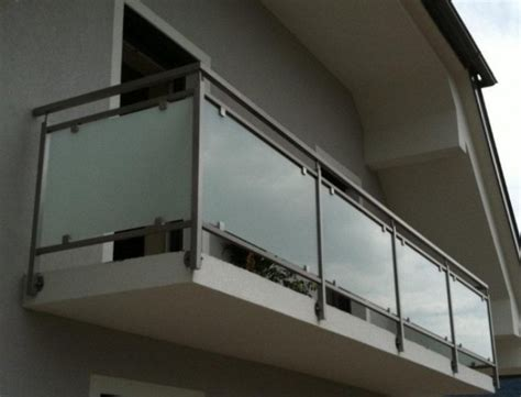 treppengeländer innen glas preis schlosserei gel 228 nder balkon terrasse stiege