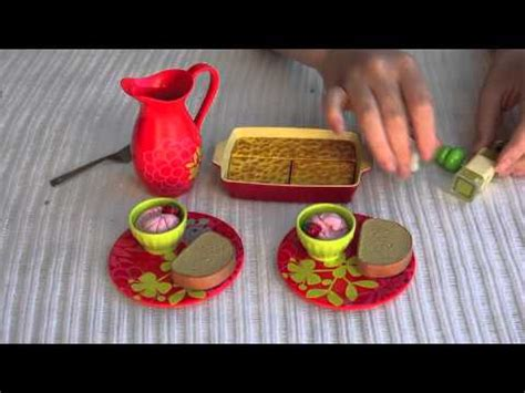 How To Make American Doll Food Out Of Paper - my american doll food
